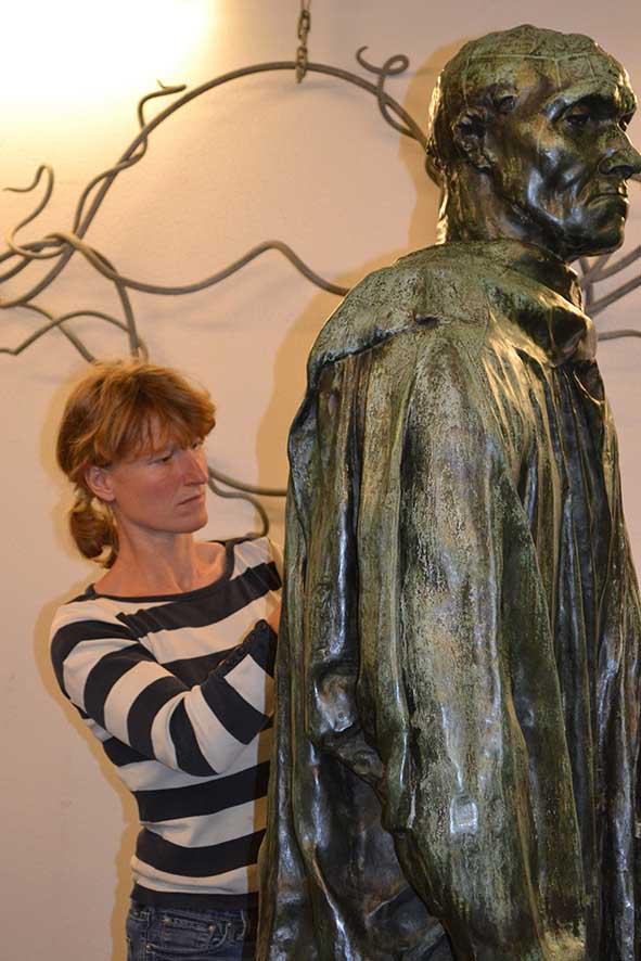 metaalrestaurator Vivianne Veenemans
