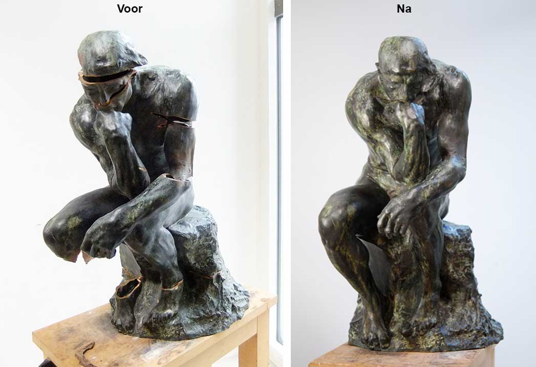 restauratie de Denker